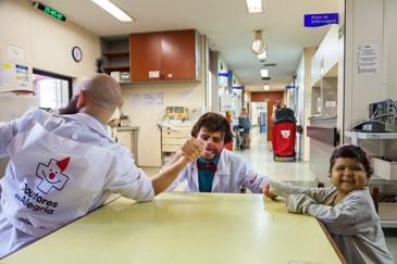Palhaços nos Hospitais