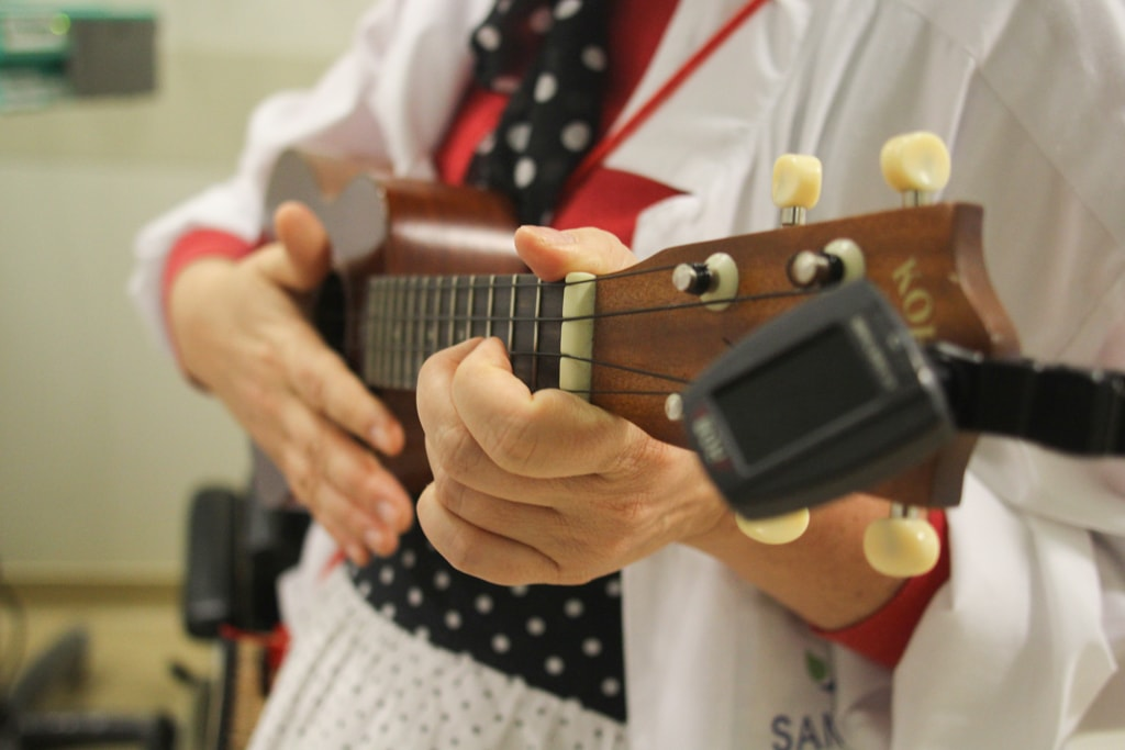 Música nos hospitais: arte e tecnologia em favor do cuidar