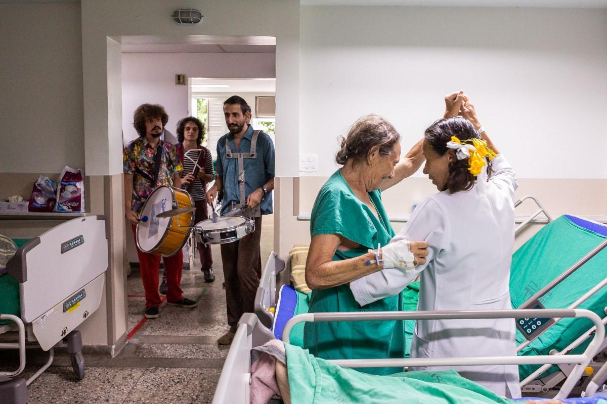 Projeto Plateias Hospitalares comemora 10 anos com mostra no Sesc Tijuca