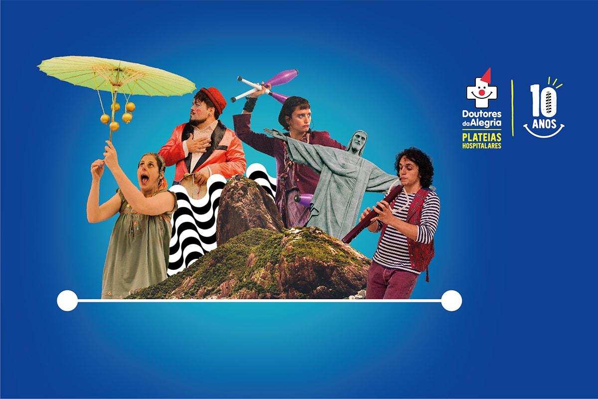 Mostra Plateias Hospitalares traz espetáculos, debate e exposição no Sesc Tijuca